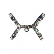 H-Front Harness | Fetish Gear - ForestGreen / Medium
