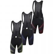 Sportful BodyFit Team Faster Bib Shorts - L - Black/Anthracite/Red