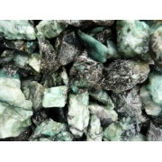 Fantasia Materials: 5 lbs Unsearched Emerald Mine Run Rough - Raw Natural Crystals for Cabbing, Cutting, Lapidary, Tumbling, Polishing, Wire Wrapping, Wicca and Reiki Crystal HealingWholesale Lot