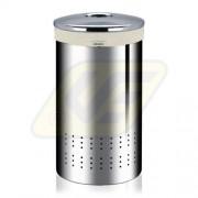 Brabantia fém szennyesruha tartó 50l, brill.steel