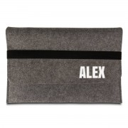 Presenter Personlig laptopväska i filt