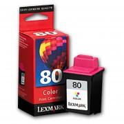 Cartucho Tinta Lexmark 80 Tricolor 12a1980 Original