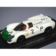 EBBRO 1/43 Porsche 908 Short Tail 1968 # 2 White / Green (japan import)
