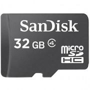 SanDisk Microsdhc 32gb Card + Sd Adapter