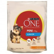 Purina ONE Mini Junior Pollo & Riso - 6 x 800 g