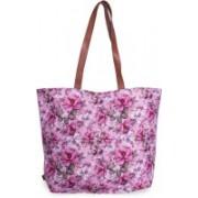 v2g Women Casual Multicolor Polyester, Canvas, Genuine Leather Shoulder Bag
