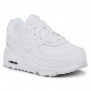 Обувки NIKE - Air Max 90 Ltr (Td) CD6868 100 White/White/Metallic Silver