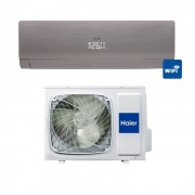 HAIER Condizionatore Haier Nebula Grey 9000 Btu Inverter Wi-Fi A++ As09ns1hra-Gu