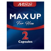MSS Male Max Up 2 x 500 mg Capsules