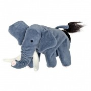 Papusa de mana Elefant Beleduc, 220 mm, 3 ani+