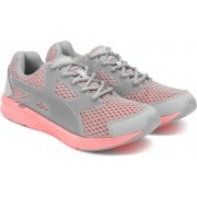 Puma NRGY Driver Running Shoes For Women(Grey, Pink)