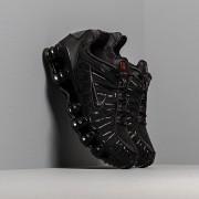 Nike Shox TL Black/ Black-Mtlc Hematite-Max Orange