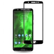 Mscot max Tempered glass 9h black 2.5D glass for Motorola Moto G6