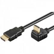 Cablu HDMI - HDMI V1.4 High Speed Ethernet 3 m Goobay 270 grade