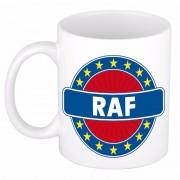 Shoppartners Voornaam Raf koffie/thee mok of beker Multi