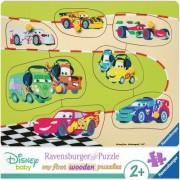 Puzzle Din Lemn Cars, 7 Piese Ravensburger