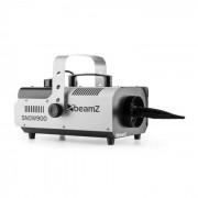 Beamz SNOW 900 Máquina de nieve artificial con 900 W depósito de 1 len plata y negro (Sky-160.561)
