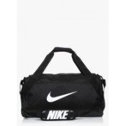 Nike (Expandable) BA5334-010-BLACK/BLACK/WHITE-5730762 Travel Duffel Bag(Black)