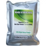 Natural Herbal Black Henna Powder 400 g (Without Chemical)