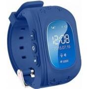 Ceas Smartwatch copii Wonlex Q50 functie telefon, buton SOS, monitorizare, GPS, SIM Albastru-Inchis