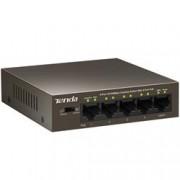 Tenda Switch Desktop 5 Porte 10/100 con 4 Porte PoE TEF1105P