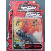Starship Troopers Battle Packs #6 Tanker Bug vs Johnny Rico Corporal Bronski MI Trooper