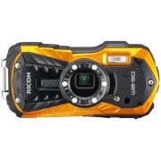 Aparat Foto Digital Ricoh WG-50, 16 MP, Filmare Full HD, 5x Zoom Optic, Waterproof (Portocaliu)