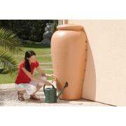 Rezervor de perete pentru apa de ploaie tip Amphora culoare Terracotta 350lt.