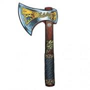 Liontouch 50004LT Hacha de Espuma vikinga para niños Parte de una línea de Disfraces para niños