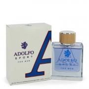 Adolfo Sport Eau De Toilette Spray 3.4 oz / 100.55 mL Men's Fragrances 543571