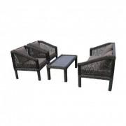 Picaso polyrattan kerti kanapé szett
