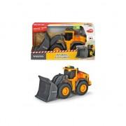 Buldozer Dickie Toys, Volvo Wheel Loader, 23 cm