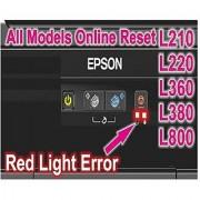 EPSON Resetter Adjustment software program waste Inkpad error L 130 220 310 360