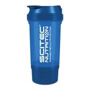 Shaker 500 ml Traveller átlátszó NEON kék Scitec Nutrition