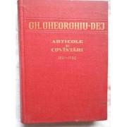 Articole Si Cuvantari 1961-1962 Vol.4 - Gh. Gheorghiu-dej