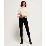 Superdry Superthermo smala jeans med hög midja
