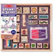Комплект детски дървени печати - градината на феите, 12424 Melissa and Doug, 000772124249