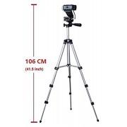 Professional Camera Tripod Mount Holder Stand for Logitech Webcam C930 C920 C615-Silver