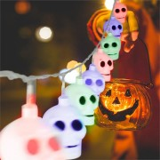 MoFun 16PCS Halloween Ghost LED String Light Toy Decoration Toys Party Home Decor