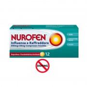 Nurofen Influenza e Raffreddore 200 mg + 30 mg, 12 Compresse Rivestite