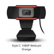 Giratorio 2.0 HD Digital PC Webcam Cámara USB para grabación de vídeo