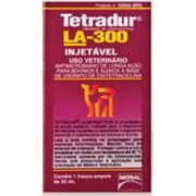 TETRADUR LA-300 (OXITETRACICLINA) INJETÁVEL - 50ml