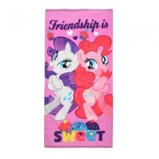Pony My Little Pony, Handduk, Rarity & Pinkie Pie, 70x140 cm (Rosa)