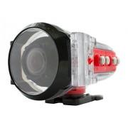 Drift Innovation 51-003-01 Carcasa de cámara a Prueba de Agua Carcasa acuática para cámaras (60 m, Negro, Rojo, Transparente, Ghost-S, HD Ghost, 63 mm, 113 mm, 81 mm)