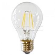 LAMPADINA LED E27 FILAMENTO 4W BIANCO CALDO 300 GRADI VT-1885-LED4259