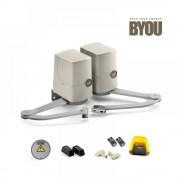 Kit de automatizare porti batante BYOU PRETTY By Beninca, recomandat pentru porti de maxim 2.1 metri
