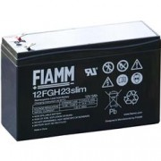 Fiamm Batteria Piombo-Acido 12V 5,0Ah Slim (Faston 4,8mm)