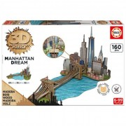 Educa Manhattan 3D puzzle, 160 darabos