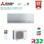 Mitsubishi Electric Inverter Kirigamine Zen Msz-Ef50ve3s Silver 18000 Btu