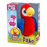 Jucarie de plus interactiva Noriel Pets - Papagal Pako